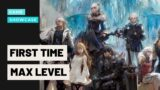 First Time Hitting Max Level in FF14 EVER! – PART 1