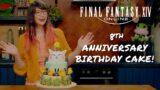 FINAL FANTASY XIV Online 8th Anniversary Birthday Cake (Featuring Kim-Joy)