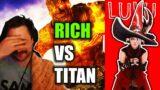 Rich W Campbell VS Titan Savage!| LuLu's FFXIV Streamer Highlights